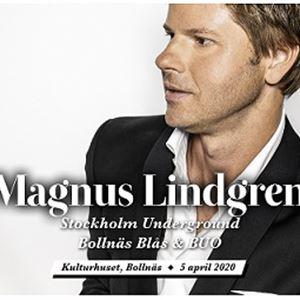 Magnus Lindgren - Stockholm Underground med Bollnäs Blås & BUO