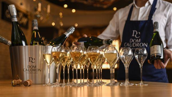 Champagne Dom Caudron - Visite en français