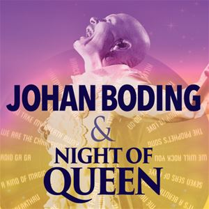 Wheel of Fortune Tour - Johan Boding & Night of Queen