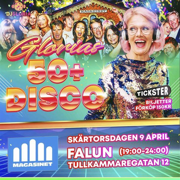 Glorias 50+ Disco