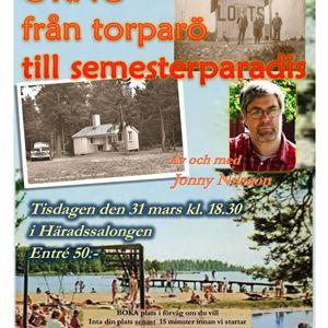 Berättarkväll på Hembygdsgården Stranda i Häradssalongen