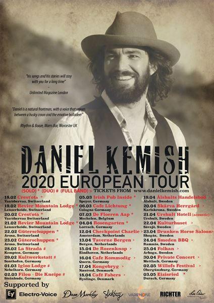 "Konsert: ""Daniel Kemish Fullband"""