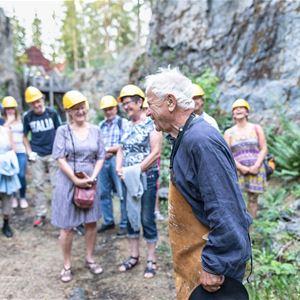 Säsongstart Guidad tur i Flogbergets besöksgruva