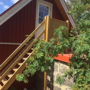 Cottage with 4 + 4 beds in Mjällby Åsar