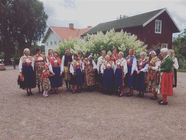 Avslutning av Komidsommarfesten med Dräktens dag INSTÄLLT