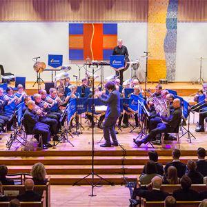 Gustav Vasa i Mora 1520-2020 - Vinterhamn med Windcorp Brass band