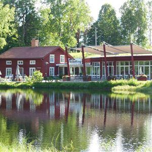 Midsommar buffé Växbo Krog Restaurang sommar Hälsingland