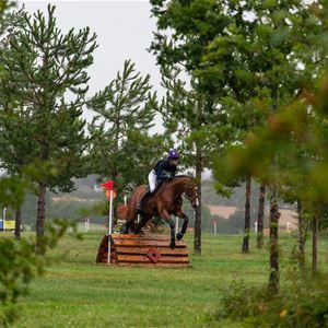 Hästhopptävling vid Nordgrensgården