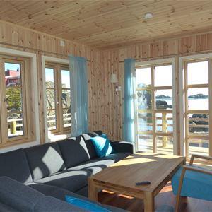 © Statles Rorbu- og Konferansesenter, Stue med utsikt på Statles Rorbu- og Konferansesenter