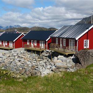© Statles Rorbu- og Konferansesenter, Røde rorbuer på Statles Rorbu- og Konferansesenter