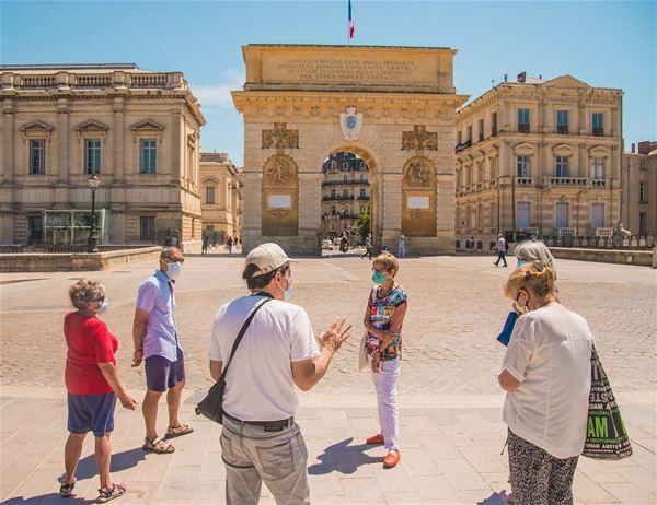 """French guided tour: """"Montpellier de places en placettes"""""""