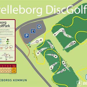 Discgolf - Albäcksskogen