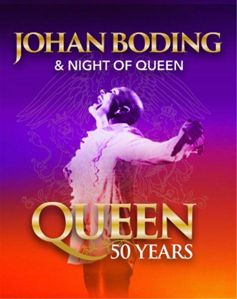 Johan Boding & Night of Queen - Queen 50 years