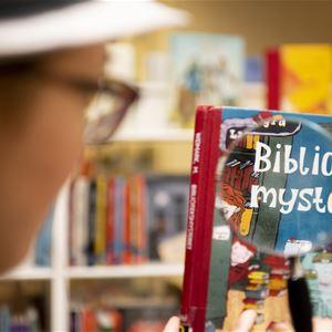 Matfors bibliotek: Fallet med nattlarmet och den försvunna boken