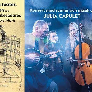 JULIA-konsert med Shakespeare-föredrag
