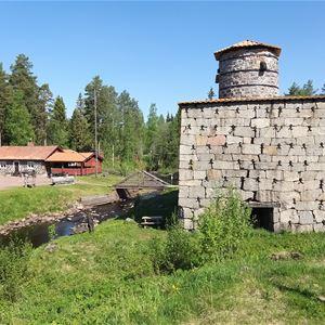 Guidning vid Siljansfors skogs- och flottarmuseum