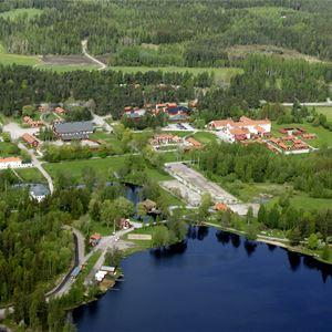 Ställplatser på Högbo Bruk
