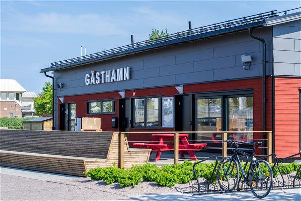 Veronica Thuresson, Gävle gästhamn, servicehus, Turistcenter