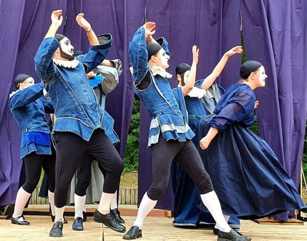 ÉVÉNEMENT COMMEDIA DELL'ARTE - LA NUIT DES ROIS de William Shakespeare