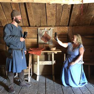 Petra Strandberg, Vikingar i långhuset