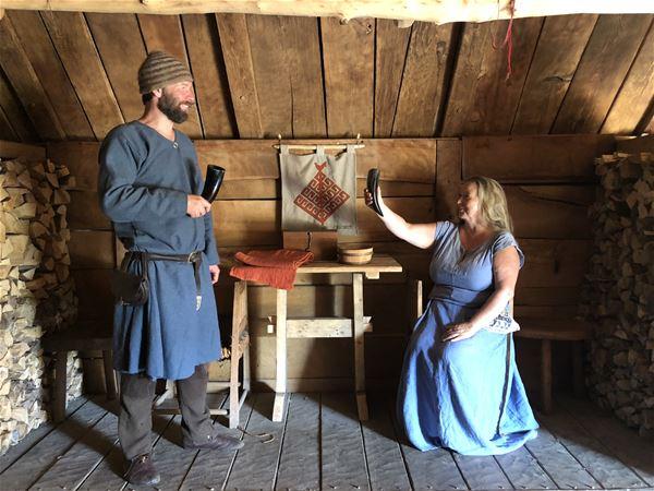 Petra Strandberg, Visit the Viking Habitat