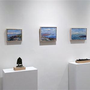 Konstutställning på Galleri Juha P