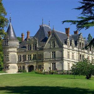 Château de la Bourdaisière et son conservatoire de la Tomate