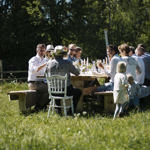 Picknick oder Gourmetmahlzeit?