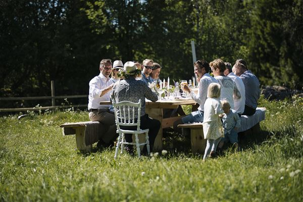 The Edible Table på Kastebergs Gård