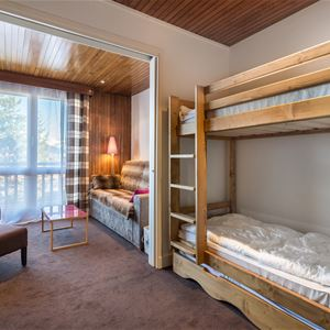 1 studio 2 adults and 2 children / LA RESIDENCE 1650 7J (Montagne) / Tranquillity Booking