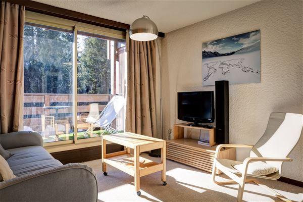 3 rooms 6 people / RESIDENCE JARDIN ALPIN 209B (Mountain) / Tranquillity Booking