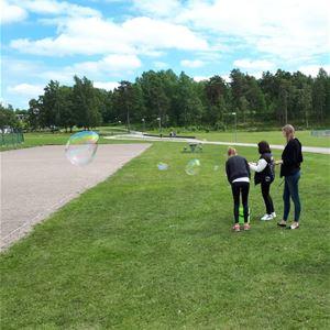 Sunnerboskoj besöker Sunnerbohallen i Ljungby