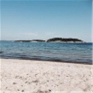 Oxvikens badplats i Tynderö