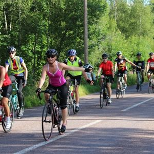 Leksandsrundan - Cykellopp mot Nord 30 km
