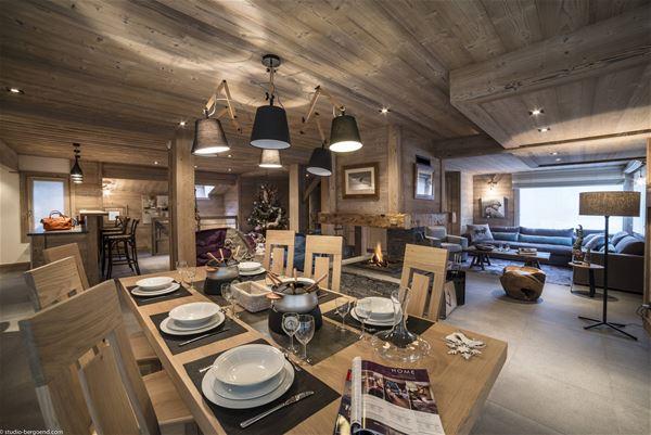 8 rooms 12 people Ski-in Ski-out / CHALET LE GENEPI (Montagne de Rêve)