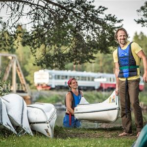 Lits Camping & Kanot,  © Lits Camping & Kanot, Kanot kurs