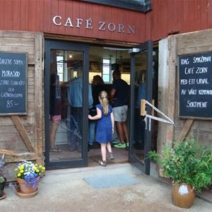 Mat runt Siljan - Café Zorn