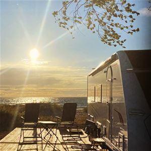Tofta Camping - Husvagn/husbilsplats - Havsnära Gul