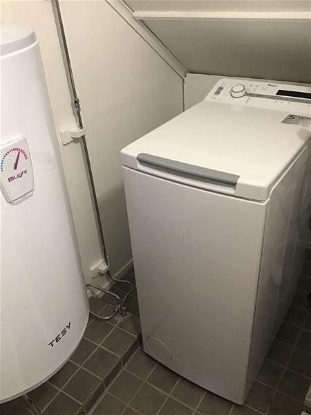 badrum m tvättmaskin