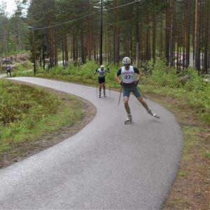Ann Eriksson,  © Ann Eriksson, Rullskidskytte SM på Snöån