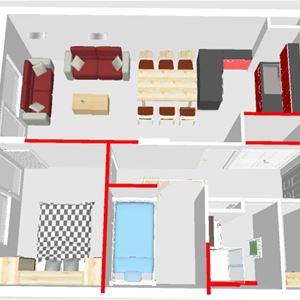 2 rooms cabin 4 adults and 2 children / LA CROIX DE VERDON 508 (Mountain of charm)