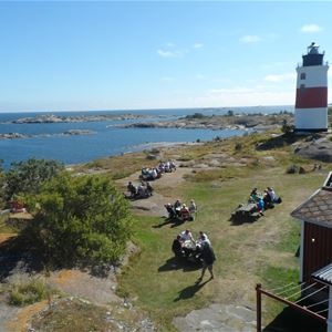 Cottages in the outer archipelago