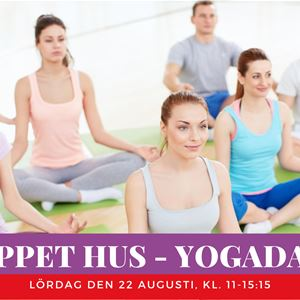 Open House - Yoga day / Yogaprogram