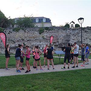 Course connectée 20 km accompagnée par des Great Runners