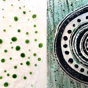 © Copy; drejeriet, Utställning - Lisbeth Malm / glas - fusing och slumping