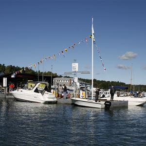 Dyvik boat moorings, Åkersberga