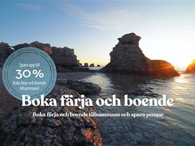 Fähre+Unterkunft • Unterkunft in ganz Gotland