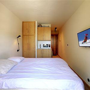 1 Studio 2 people / DOMAINE DU JARDIN ALPIN 412B (Mountain) / Tranquillity Booking