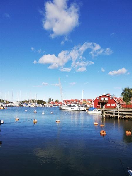 Gästhamn vid Herrängs marina