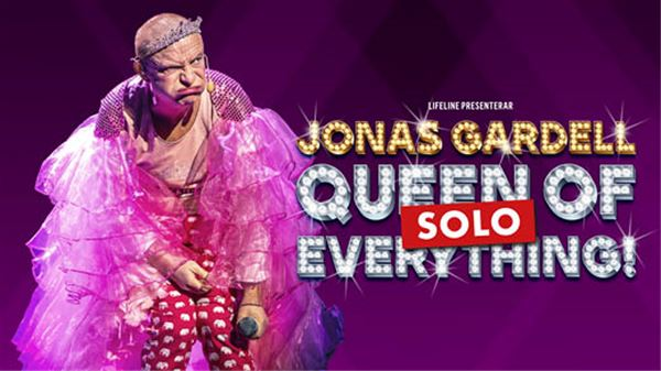 "Standup: ""Queen of fucking everything – SOLO"" -show med Jonas Gardell på Alandica"